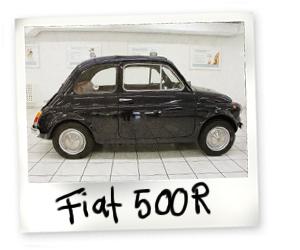 Fiat 500 R Oldtimer kaufen - Autohaus Scharfenberger Bietigheim