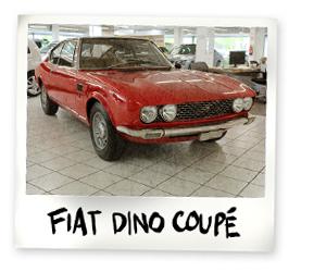 Fiat Dino Coupe Oldtimer kaufen - Autohaus Scharfenberger Bietigheim