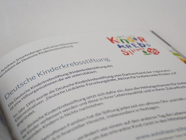 Deutsche Kinderkrebs Stiftung - Autohaus Scharfenberger Bietigheim