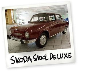 Skoda S100L DE LUXE Oldtimer kaufen - Autohaus Scharfenberger Bietigheim